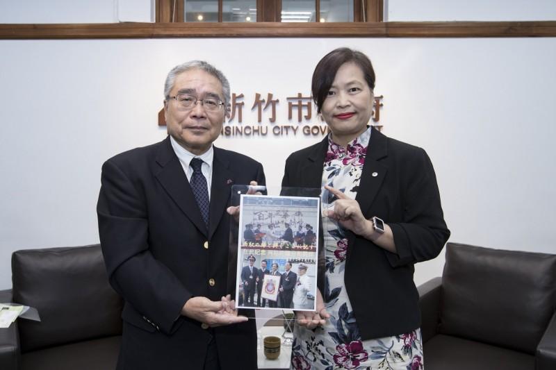 日JR東日本社長來訪 竹市府盼學習推動大車站計畫