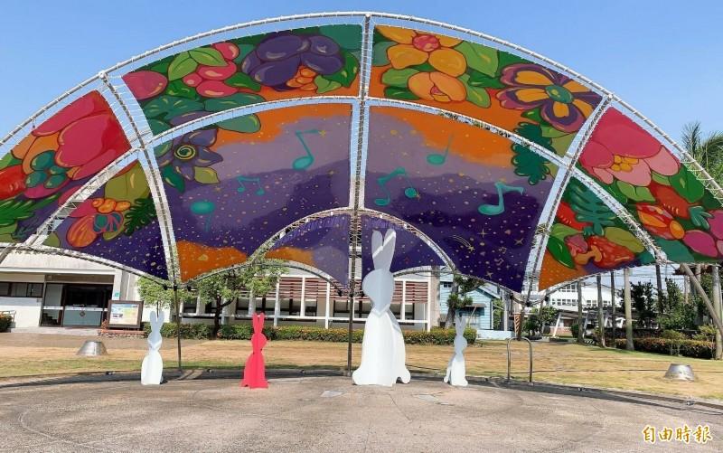 台南北門「藝享世界」裝置藝術10月底完工