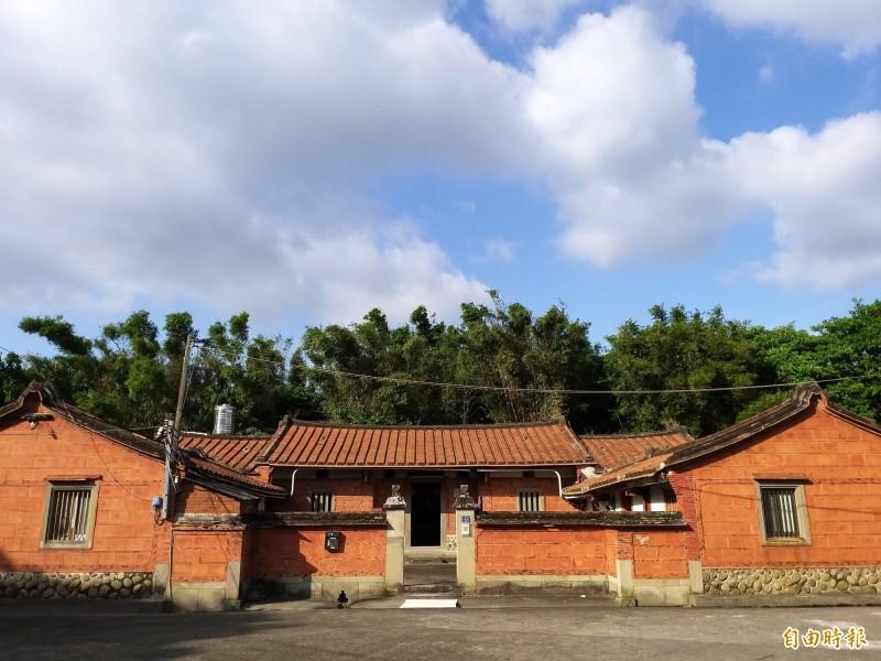 百年建築竹北通德堂  管理人建議徵收保存
