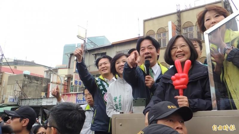「壯大台灣」連結蔡賴配?  網友灌爆賴臉書