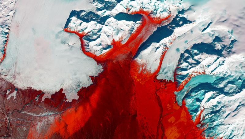 地球即是藝術!美國衛星影像 捕捉壯麗美景