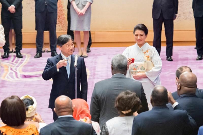 日本德仁天皇即將於22日行登基大禮。(法新社資料照)