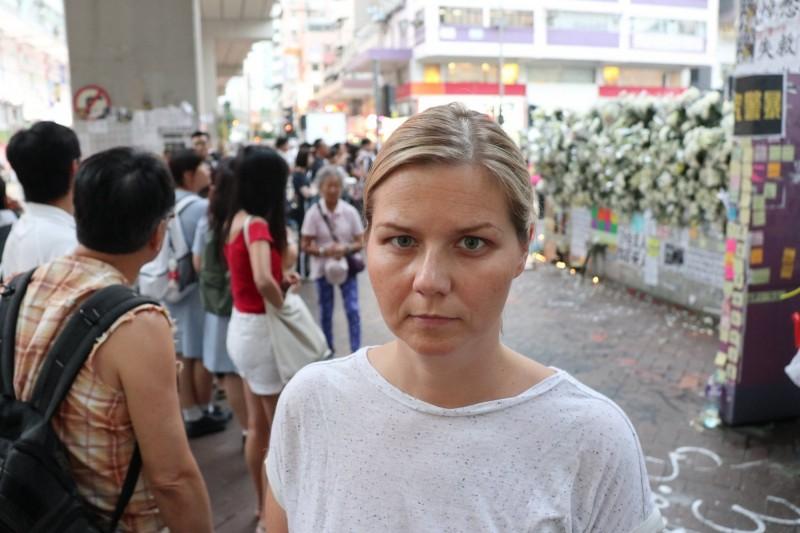 挪威國會自由黨議員梅爾比(Guri Melby)昨日宣布已提名全體香港人角逐2020年諾貝爾和平獎。(圖擷取自臉書_Guri Melby)