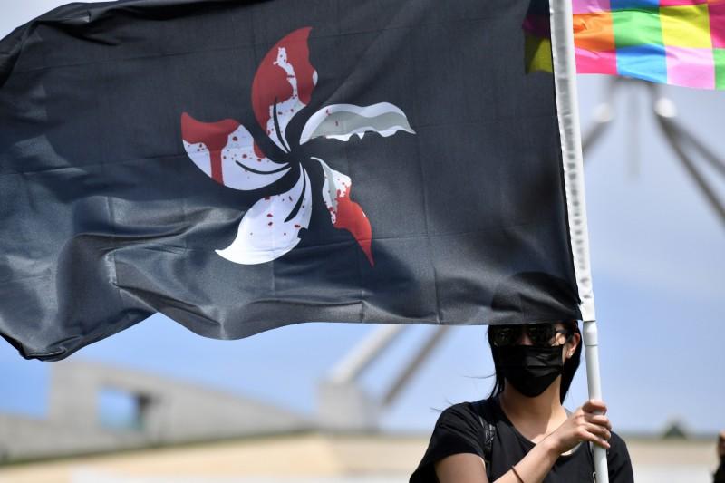 港人澳洲集會 籲澳政府制裁香港違反人權官員