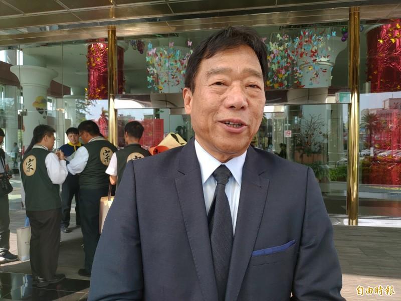 出身安南區四草的吳木,代表宗教聯盟出馬參選台南市第三選區立委。(記者蔡文居攝)