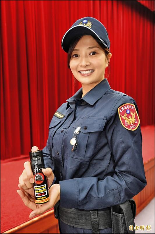 台灣高等法院16日舉行全國法警全面換裝記者。(記者叢昌瑾攝)