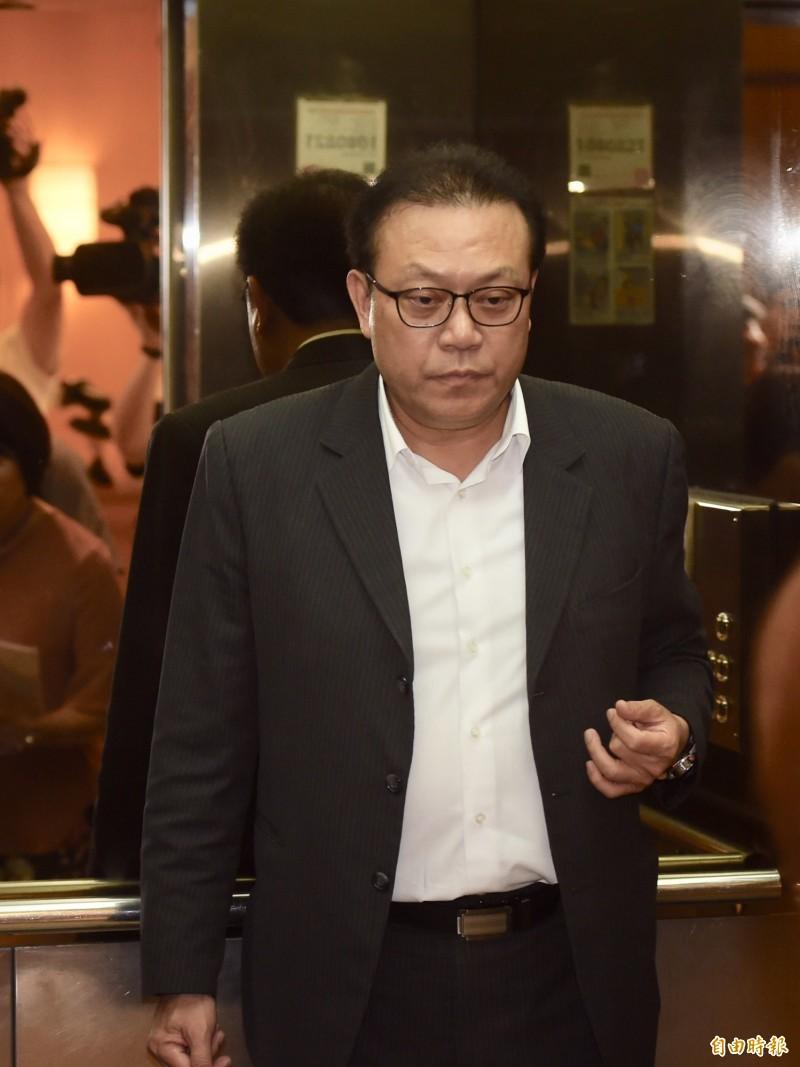 指黨主席曾承諾列不分區安全名單 蘇震清:若反悔會脫黨參選