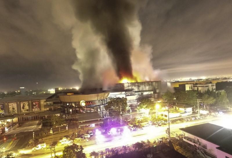 菲律賓南部規模6.3強震 商場起火已知2死20多傷