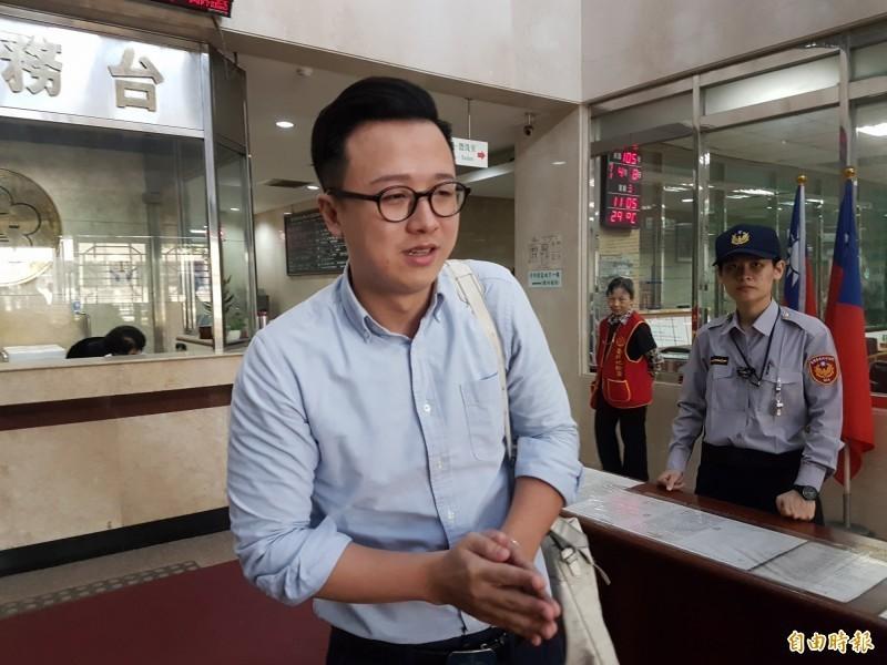 李正皓(見圖)面對黨內處分,表示將會找律師研究向國民黨提告,擬提出撤銷黨籍「假處分」案,藉此保全黨籍。(資料照)