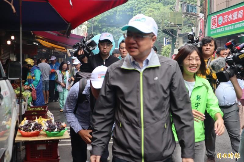 卓榮泰表示,不要繼續要脅、威脅黨中央,這絕對是不智的行為。(記者周湘芸攝)