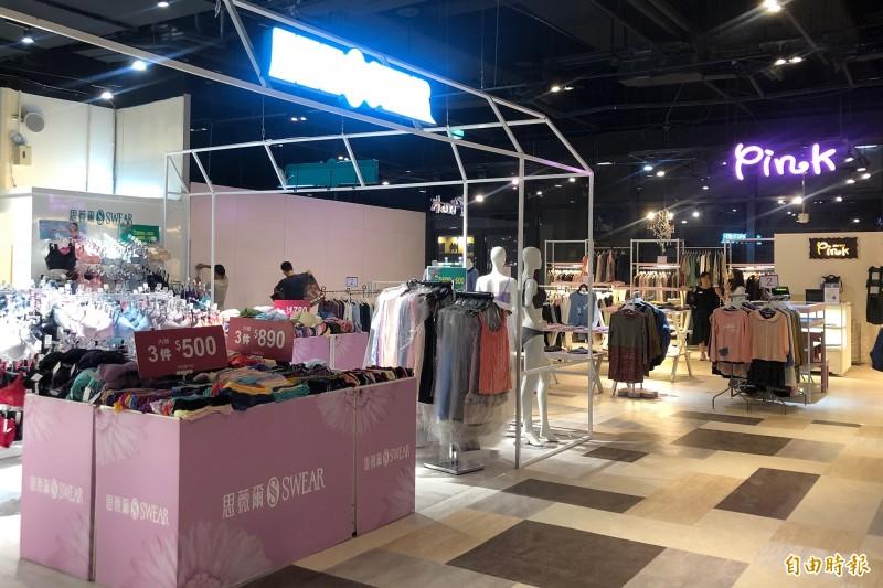潮州驛站目前有7家業者開始營業。(記者邱芷柔攝)
