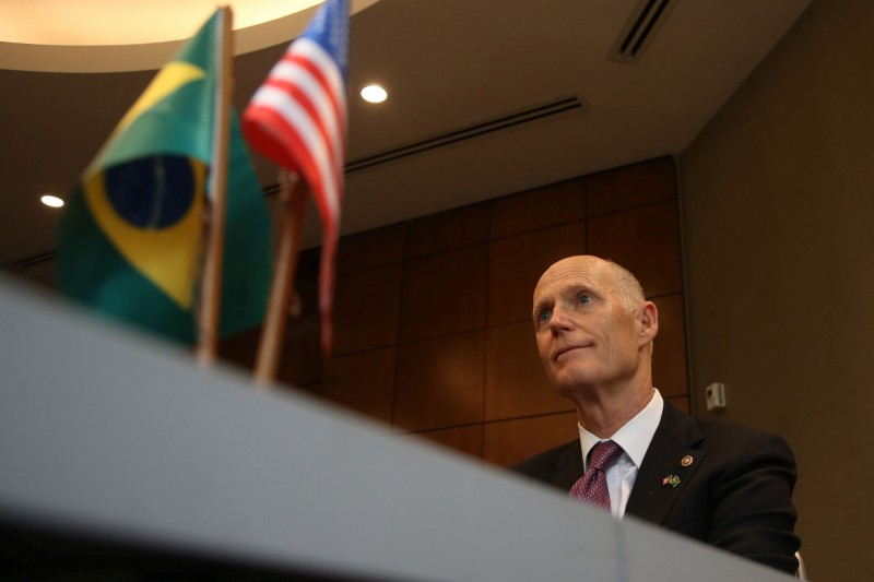 美國參議員史考特,在17日去信至國際奧委會,要求中國做出「正確的事」,悍衛自由,否則2022年冬奧主辦權應另尋他國。(路透)