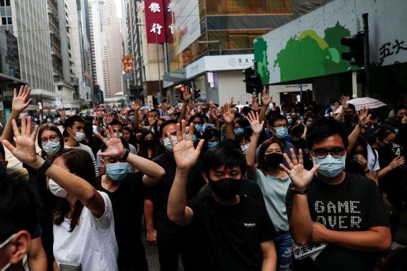 香港反送中運動已持續超過4個月仍未平息。(路透社)