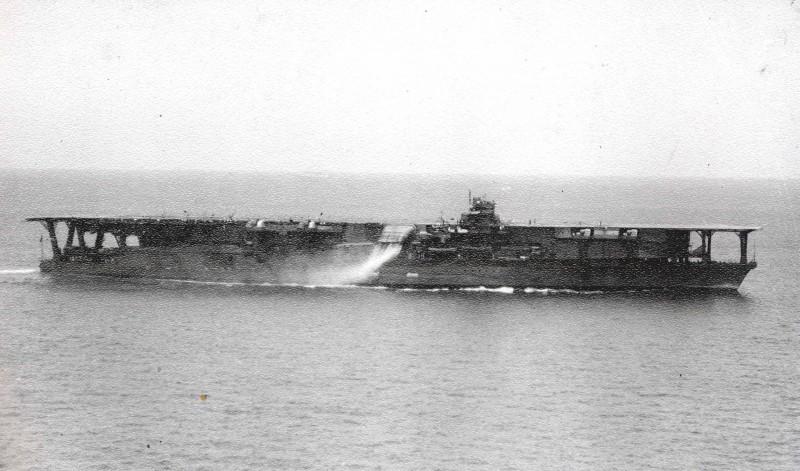 1936年改裝竣工時的「加賀號」。(圖擷自Wiki)