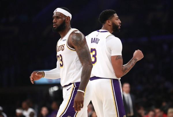 NBA》找來AD還不夠? 湖人新球季奪冠票選只排第三