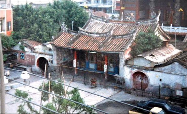 舊北斗奠安宮。(明道大學副教授謝瑞隆提供)