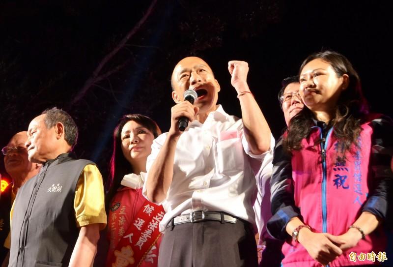 國民黨總統參選人韓國瑜設在高雄市的全國競選總部規劃11月9日開張。(資料照)