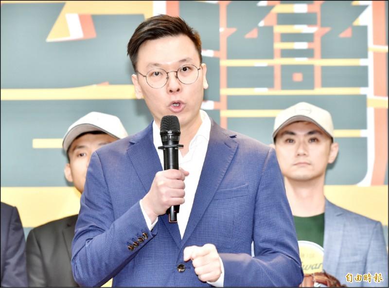 民主進步黨副秘書長林飛帆。(資料照,記者塗建榮攝)
