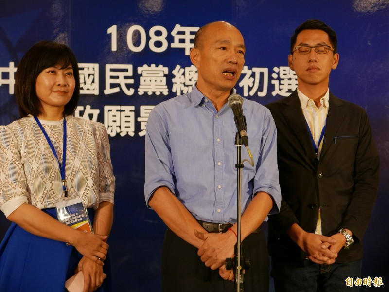 民進黨議員楊典忠被小朋友叫韓國瑜,大家都說根本不像(文:唐在馨,圖:資料照)