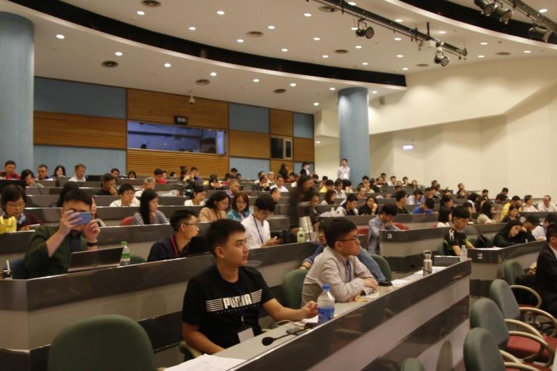 台灣學生聯合會在台北藝術大學共同舉辦「協助大專校院提升學生宿舍數量與品質-學生交流論壇」。(台灣學生聯合會提供)