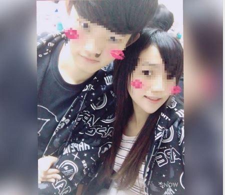香港籍男子陳同佳(左)與女友潘曉穎去年來台旅行,潘女慘遭陳男殺害棄屍。(擷取自臉書)