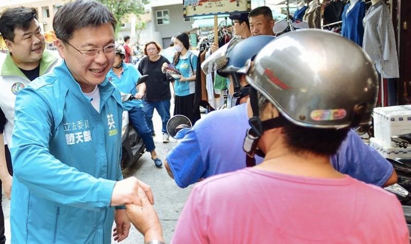 香港籍兇嫌陳同佳稱向台灣投案,國民黨提名總統參選人韓國瑜表示當選馬上收他,立委趙天麟指關鍵時刻的判斷與決策,往往最能看出一個人的立場與意識形態。(取自立委趙天麟臉書)