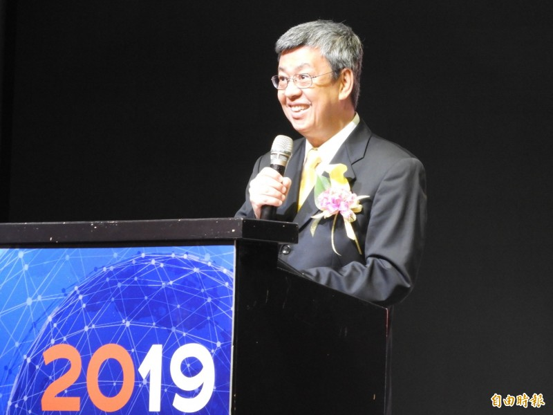 國際基督徒海事協會第11屆世界會議首度移師台灣,副總統陳建仁應邀致詞。(記者葛祐豪攝)