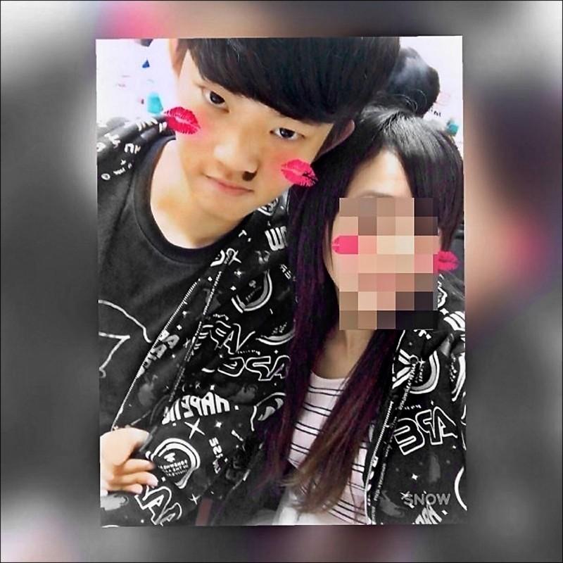 陳同佳(左)在台殺害女友後逃回香港,近日傳出將來台投案。(圖取自臉書)