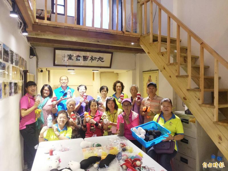百年老屋活化飄香  瑞芳龍安里長買下打造圖書交誼室