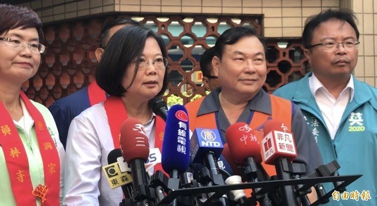 總統蔡英文表示,希望香港政府負起責任,提供必要的協助,讓司法機關掌握充分的證據,完整確認法律責任,還給受害的香港人公道。(記者顏宏駿攝)