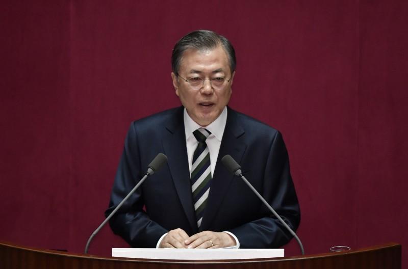 文在寅今發表施政演說 強調政府需「公正」及「改革」