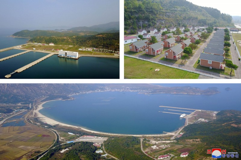 海拔1638公尺的金剛山位於北韓東南部的特別行政區,是朝鮮第二高山。(路透)