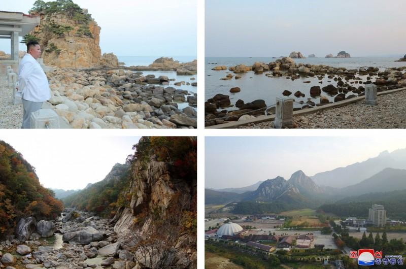 位於北韓的金剛山觀光區及開城工業區是兩韓共同開發的經濟項目。(歐新社)