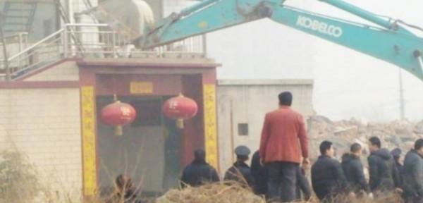 中國強拆事件層出不窮,常引爆官民激烈衝突,此為示意圖,與本新聞無關。(擷取自大中華在線)