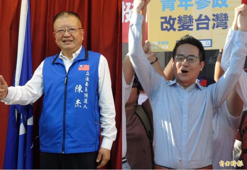 國民黨中常會下週三將繼續開鍘,開除「郭家軍」李縉穎(圖右)以及前國民黨立委陳杰(圖左)。(資料照)