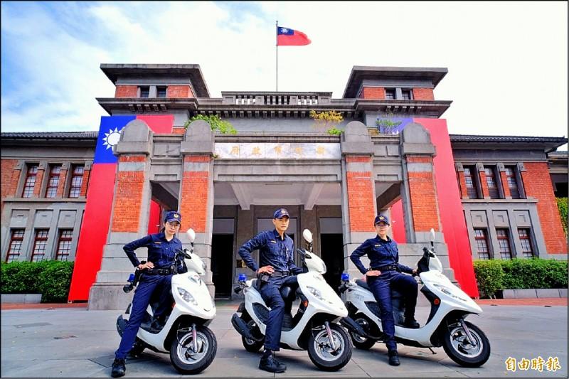 新竹市政府將編列專款預算,明年起,全面補助八百三十八名外勤警察健康檢查。(記者廖雪茹攝)