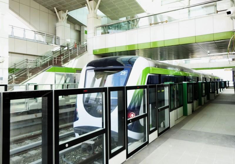 為明年捷運綠線通車準備,台中捷運公司大幅招考528人。(圖由台中市政府提供)