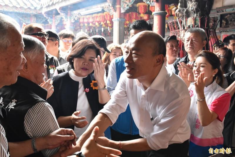 翁達瑞認為,台灣民眾不會投給被恥笑的候選人,斷定韓國瑜即將成為笑柄。(記者黃淑莉攝)