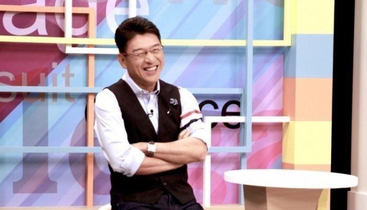 政論節目新聞面對面主持人謝震武。(和展影視提供)