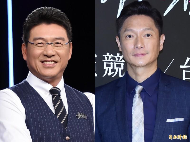 「律師」謝震武(左)和「鮮師」謝祖武。(資料照)
