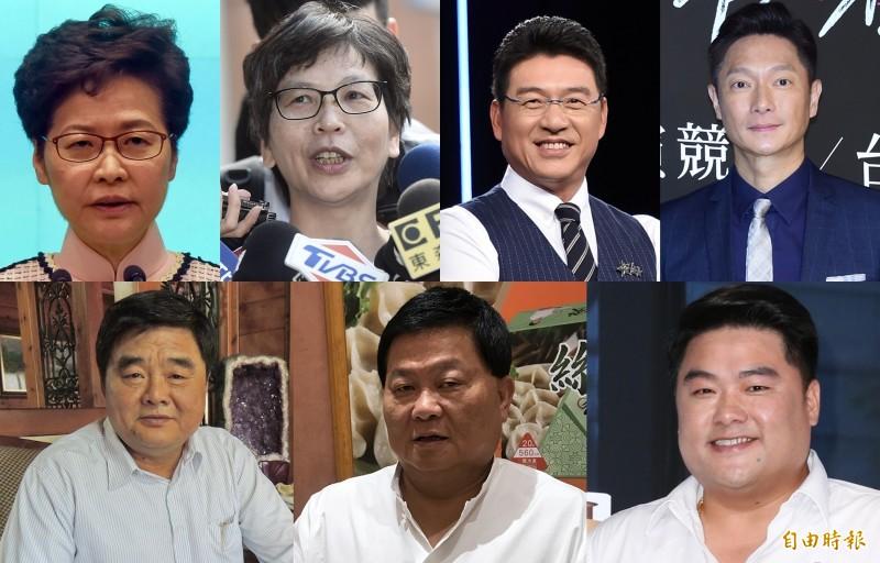 不僅謝震武和謝祖武常被認錯,很多名人和政治人物也常常被觀眾搞混。(資料照合成圖)
