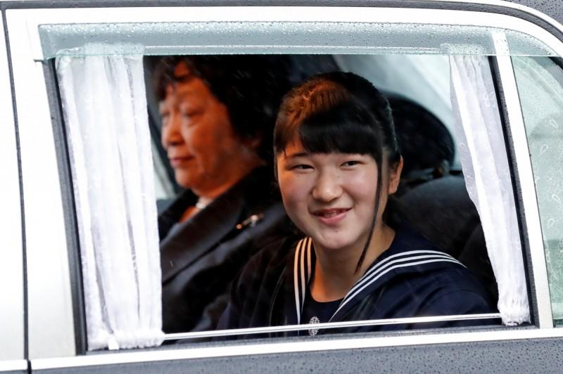 愛子公主(見圖)是日本德仁天皇的獨生女。(路透)