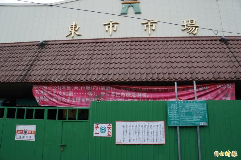 斗六東市場申請成為「歷史建築」,預定11月5日會勘。(記者詹士弘攝)