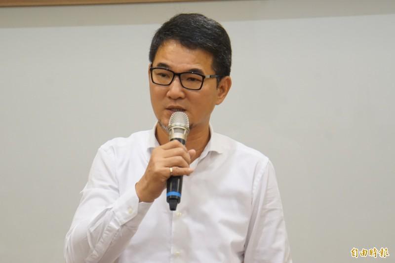 立委劉建國希望下屆選舉能比本屆的成果更好。(記者詹士弘攝)
