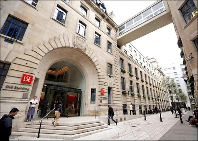 英國倫敦政經學院(LSE)考量學術自由可能受影響,決定暫緩由中國商人李世默資助的中國課程。(取自網路)