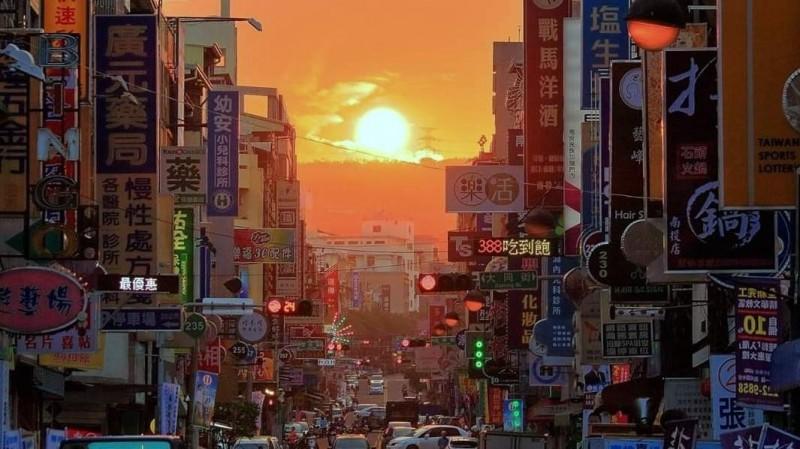 南投市懸日美景,令人驚艷、讚嘆不已!(資料照)