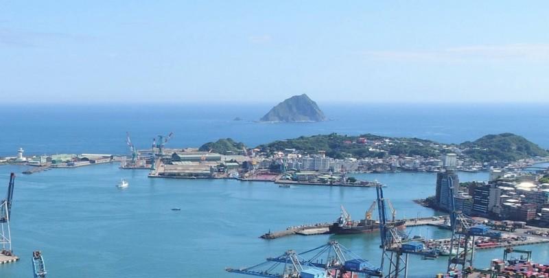 基隆和平島的台船基隆廠打造潛艦產業園區。(基隆市政府提供)