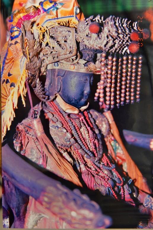 奠安宮的聖三媽。(照片由柯鴻基提供)