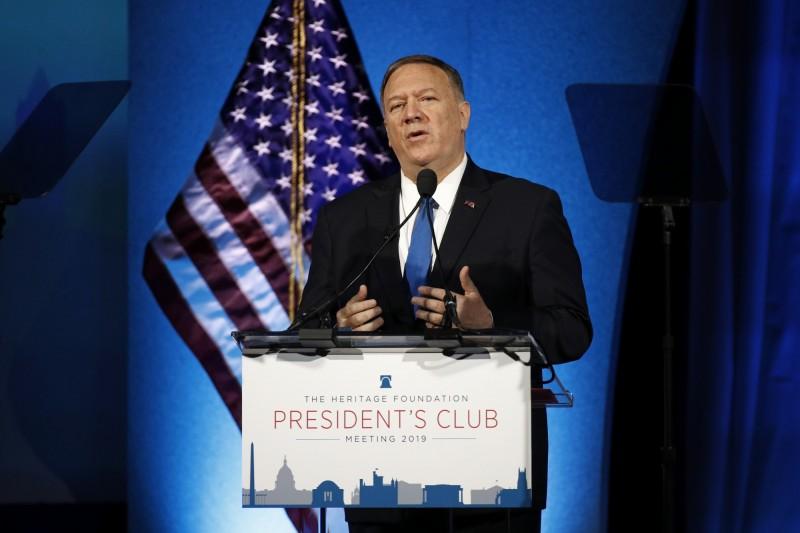 美國國務卿龐皮歐(Mike Pompeo)表示,美國需要對抗中國共產黨帶來的挑戰。(美聯社)