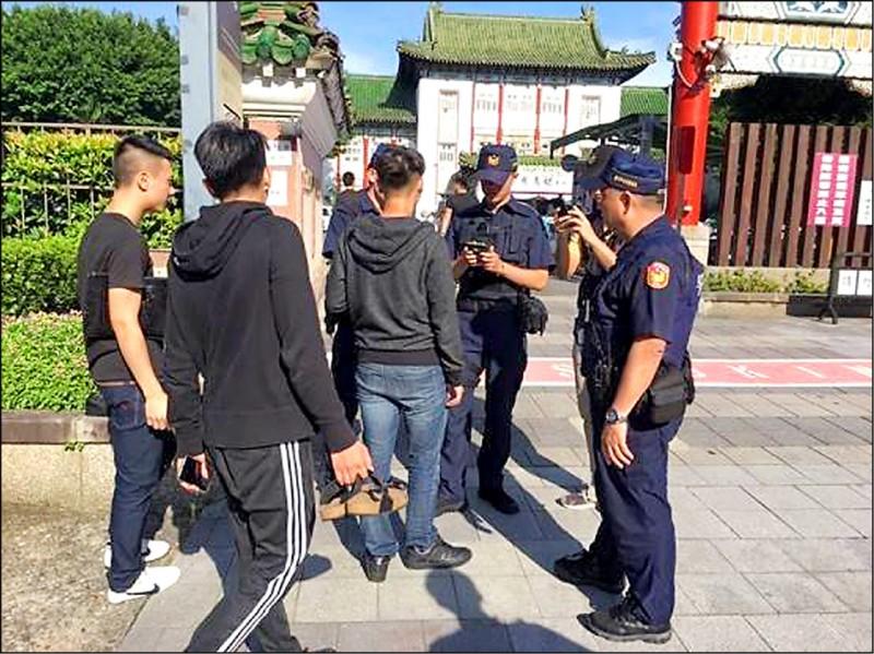 北聯幫高調舉辦創幫紀念大會,當時警方就在場進行蒐證。(資料照)